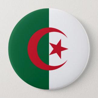 Naval Ensign, Algeria 4 Inch Round Button