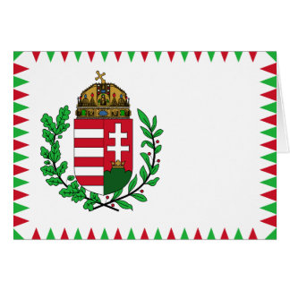 Naval Ensign Of Hungary, Hungary flag Card