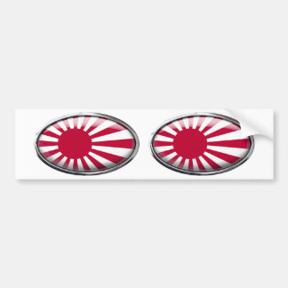 Naval Ensign of Japan Bumper Sticker
