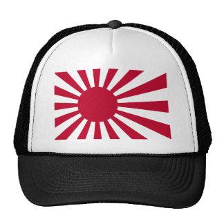 Naval Ensign of Japan - Japanese Rising Sun Flag Trucker Hat