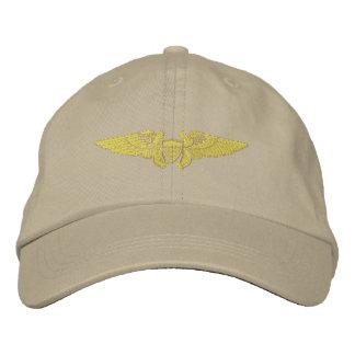Naval Flight Officer Embroidered Hat