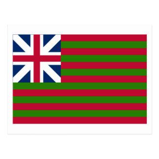 Naval Grand Union Flag Postcard
