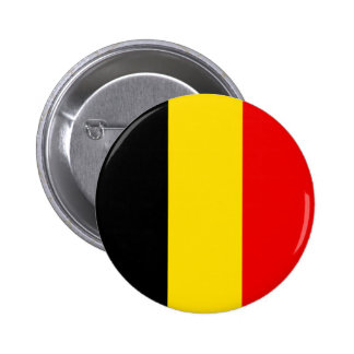 Naval Jack Of Belgium, Belgium flag Pinback Buttons
