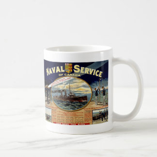 Naval Service of Canada Classic White Coffee Mug