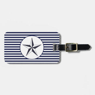 Naval Star Luggage Tag