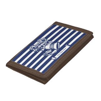 Naval style tri-fold wallets