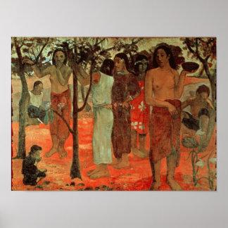 Nave Nave Mahana , 1896 Poster
