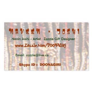 Naveen Zazzling Fabrics n Fashion Parade Business Card