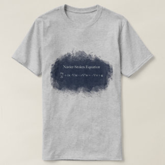 Navier Stokes Equation Math & Science T-Shirt
