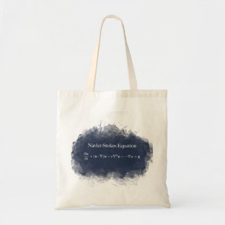 Navier Stokes Equation Math & Science Tote Bag