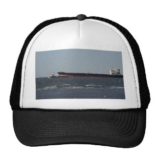 Navigating deep water channel mesh hat