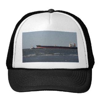 Navigating deep water channel mesh hat