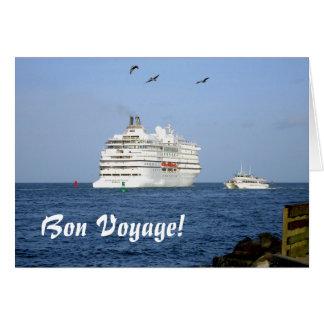 Navigating the Seas Bon Voyage Card