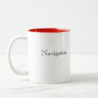 Navigator Two-Tone Coffee Mug