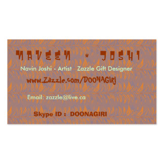 NAVIN JOSHI Collection Business Cards