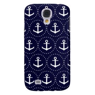Navy anchor circle pattern