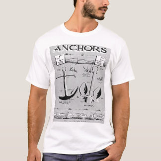Navy Anchors T-Shirt