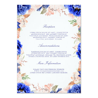 wedding invitations with rsvp navy and pink wedding invitations amp announcements zazzle ca 9778