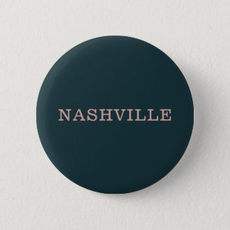 Navy and Pink Nashville Button