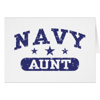Navy Aunt Cards
