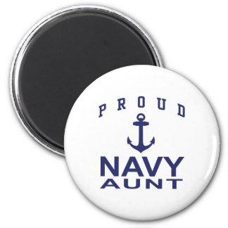Navy Aunt Magnets