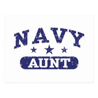 Navy Aunt Postcard