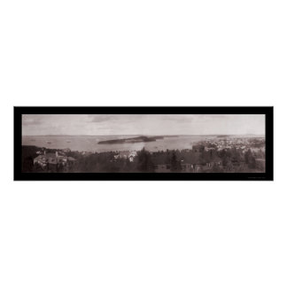 Navy Bar Harbor ME Photo 1904 Poster