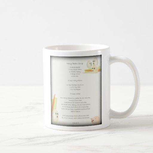 Navy Bean Soup Recipe Mug