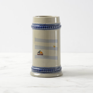 NAVY BEER CHOP/CHOPE WITH MARITIME BEER BEER STEIN