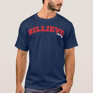 Navy Billieve.org Tee Shirt