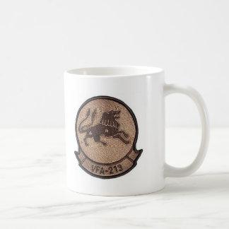 NAVY BLACK LIONS CLASSIC WHITE COFFEE MUG