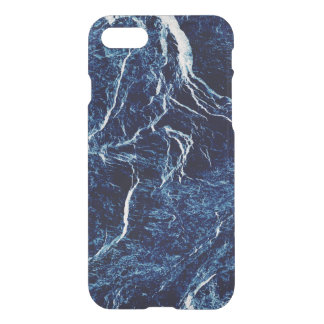 Navy Blue Abstract Pattern iPhone 8/7 Case