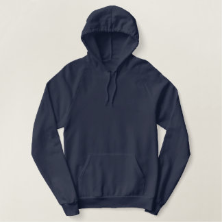 Navy Blue American Apparel Fleece Hoodie