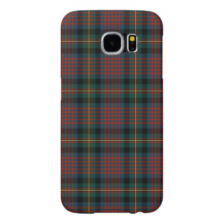 Navy Blue and Red MacLennan Clan Scottish Plaid Samsung Galaxy S6 Case