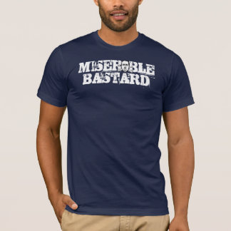 Navy Blue Bastard T-Shirt