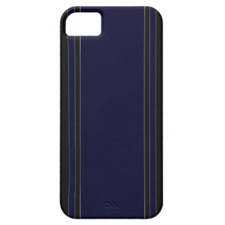 Navy Blue & Black iPhone 5 Case