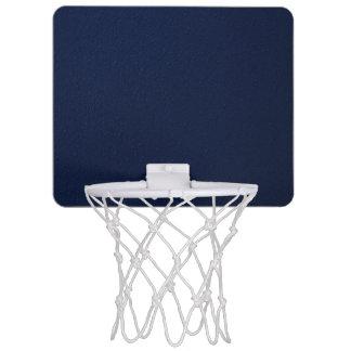 Navy Blue Bumpy Pattern Mini Basketball Hoop