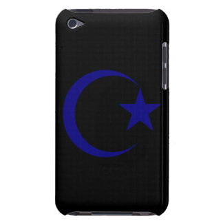 Navy Blue Crescent & Star.png iPod Touch Cover