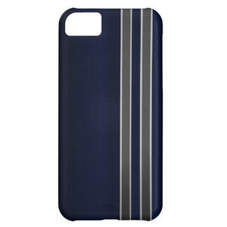 Navy Blue & Gray iPhone 5 Case