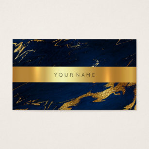 Royal blue business cards business card printing zazzle ca navy blue grungy gold marble vip business card2 business card colourmoves Gallery