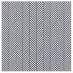 Navy Blue Herringbone Fabric