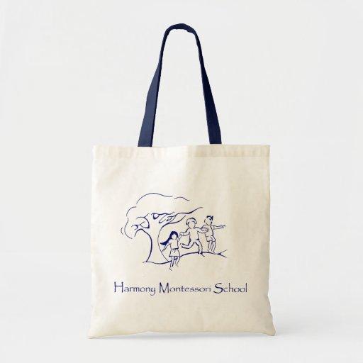 Navy Blue HMS Logo Bags
