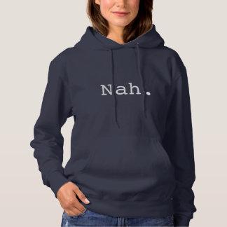 Navy Blue Hoodie - Nah.