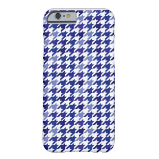 Navy blue Houndstooth iphone case