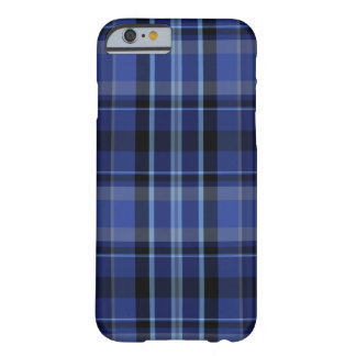 Navy Blue Plaid iPhone 6 Barely There iPhone 6 Case