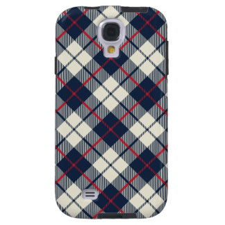 Navy Blue Plaid Pattern