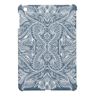 Navy Blue, Raven of mirrors, dreams, bohemian Cover For The iPad Mini