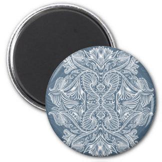 Navy Blue, Raven of mirrors, dreams, bohemian Magnet