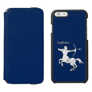 Navy Blue Sagittarius Zodiac Incipio Watson™ iPhone 6 Wallet Case