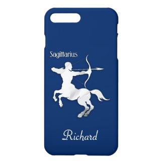 Navy Blue Sagittarius Zodiac iPhone 8 Plus/7 Plus Case